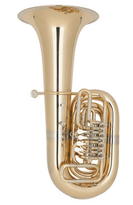 Tuba Do 4 Cilindros Miraphone 86a Goldmessing