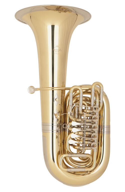 Tuba Do 5 Cilindros Miraphone 86b Goldmessing